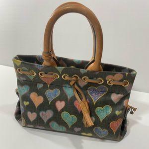 Dooney & Bourke Hearts Collection Mini Purse
